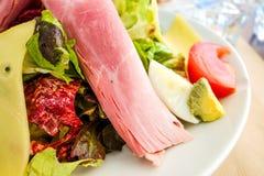 Salada de frutas frescas Imagens de Stock Royalty Free