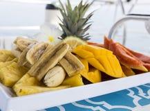 Salada de fruto Imagens de Stock