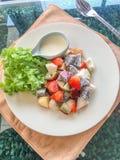 Salada de fruto da mistura Fotografia de Stock