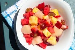 Salada de fruto do verão Fotografia de Stock Royalty Free