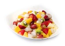Salada de fruto, estilo de vida saudável foto de stock