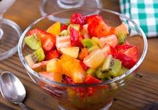 Salada de fruto fresco Fotografia de Stock Royalty Free