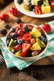 Salada de fruto orgânica de Heallthy Fotografia de Stock