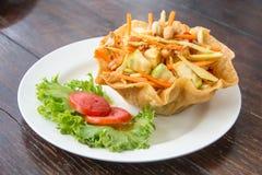 Salada de fruto tailandesa Fotos de Stock