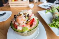 Salada de fruto tropical Foto de Stock Royalty Free