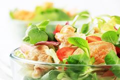 Salada de galinha Imagem de Stock Royalty Free