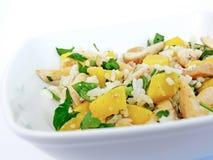 Salada de galinha - ascendente próximo Fotografia de Stock Royalty Free