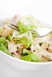 Salada de galinha de caesar Fotos de Stock