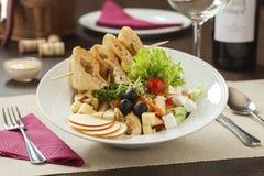 Salada de galinha fresca Imagem de Stock