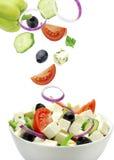 Salada de Greece Imagem de Stock Royalty Free