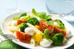 Salada de massa Imagem de Stock Royalty Free