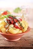 Salada de massa Foto de Stock