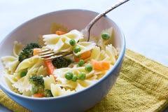 Salada de massa Fotografia de Stock