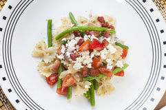 Salada de massa Fotos de Stock Royalty Free
