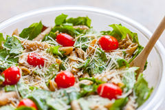 Salada de massa da galinha Foto de Stock Royalty Free