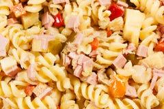 Salada de massa fria Imagens de Stock