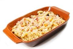 Salada de massa fria Foto de Stock