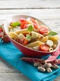 Salada de massa fria Fotografia de Stock Royalty Free