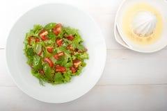 Salada de Mediterranian fotografia de stock royalty free
