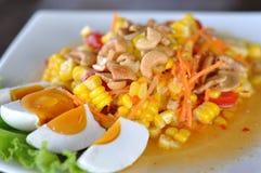 Salada de milho Fotos de Stock