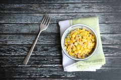 Salada de milho Foto de Stock