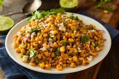 Salada de milho mexicana caseiro foto de stock royalty free