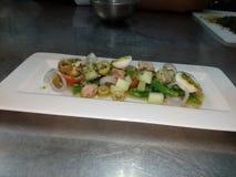 Salada de Nicoise foto de stock royalty free