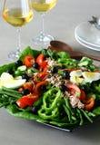 Salada de Nicoise imagem de stock royalty free