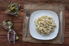 A salada de Olivier Fotografia de Stock Royalty Free