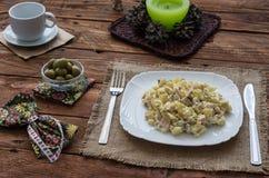 A salada de Olivier Fotos de Stock Royalty Free