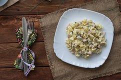 A salada de Olivier Fotos de Stock