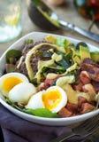 Salada de Paleo Fotografia de Stock