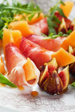 Salada de Parma dos di do Prosciutto Fotografia de Stock Royalty Free