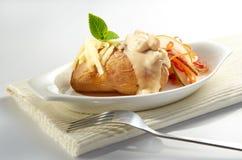 Salada de Poatto Fotografia de Stock
