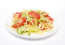 Salada de repolho Imagem de Stock
