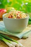 Salada de repolho de Apple Imagem de Stock