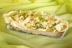 Salada de repolho de Bok Choy Imagens de Stock