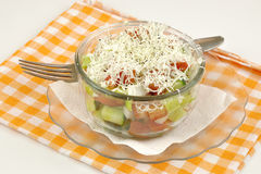 Salada de Shopska Foto de Stock Royalty Free