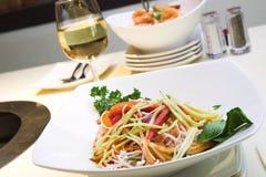 Salada de Singapore fotografia de stock