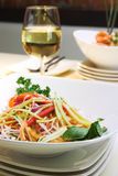 Salada de Singapore Foto de Stock Royalty Free