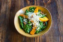 Salada de Spinaci Fotografia de Stock Royalty Free