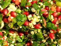 Salada de Tabouleh   foto de stock royalty free