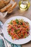 Salada de vegetais shredded Foto de Stock