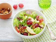 Salada de Waldorf com uvas Foto de Stock Royalty Free
