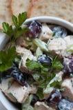Salada de Waldorf da galinha Imagem de Stock Royalty Free