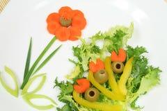 Salada decorativa Imagens de Stock