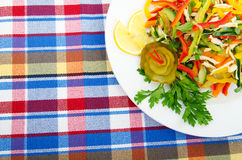 Salada deliciosa Fotos de Stock Royalty Free