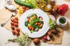 Salada deliciosa da beterraba vermelha Fotos de Stock Royalty Free