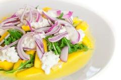 Salada deliciosa de Rucola Foto de Stock Royalty Free