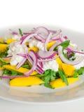 Salada deliciosa de Rucola fotografia de stock royalty free